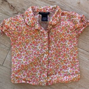 Ralph Lauren Toddler Girl Sz 2/2T Blouse